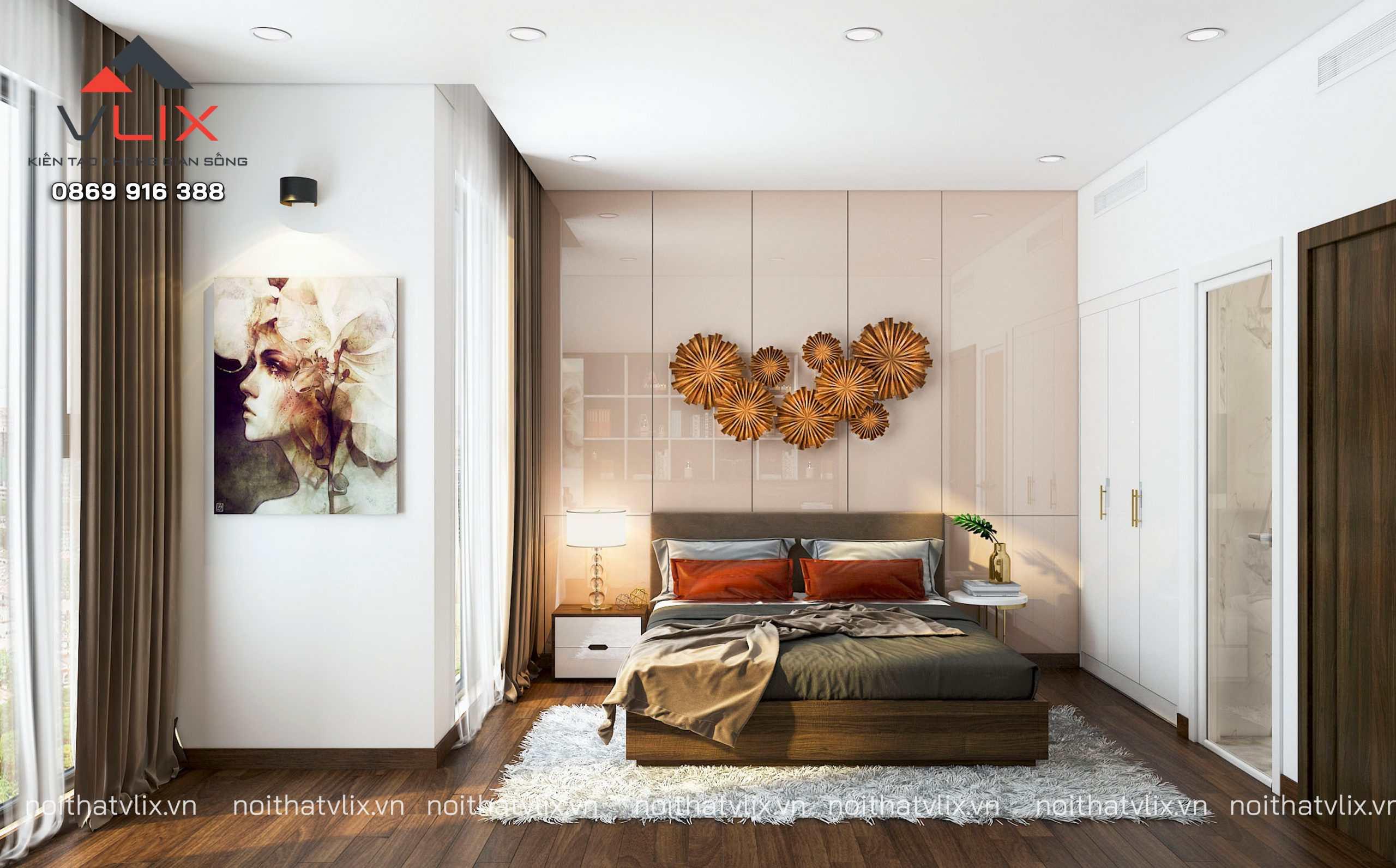 Thiết kế nội thất chung cư hiện đại sang trọng