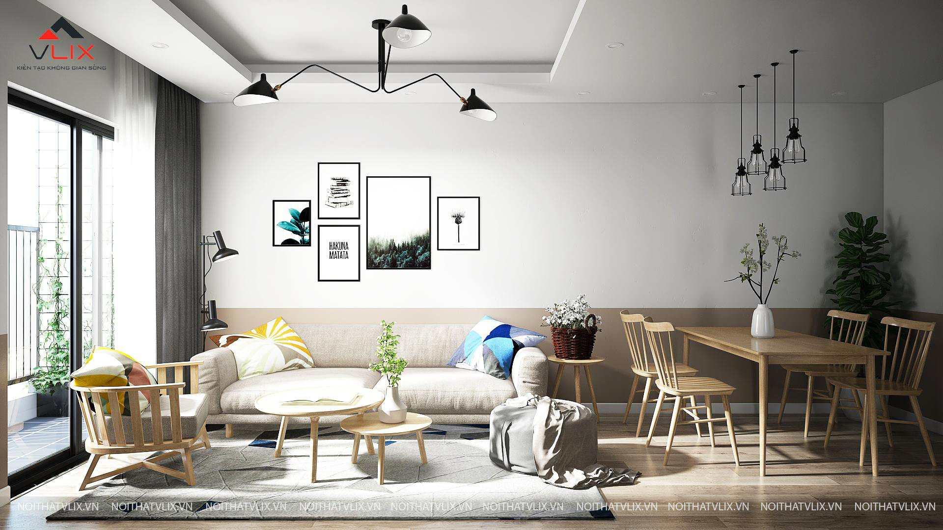 thiết kế nội thất chung cư 2