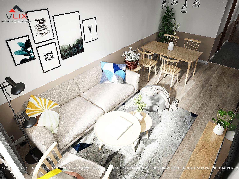 thiết kế nội thất chung cư 4